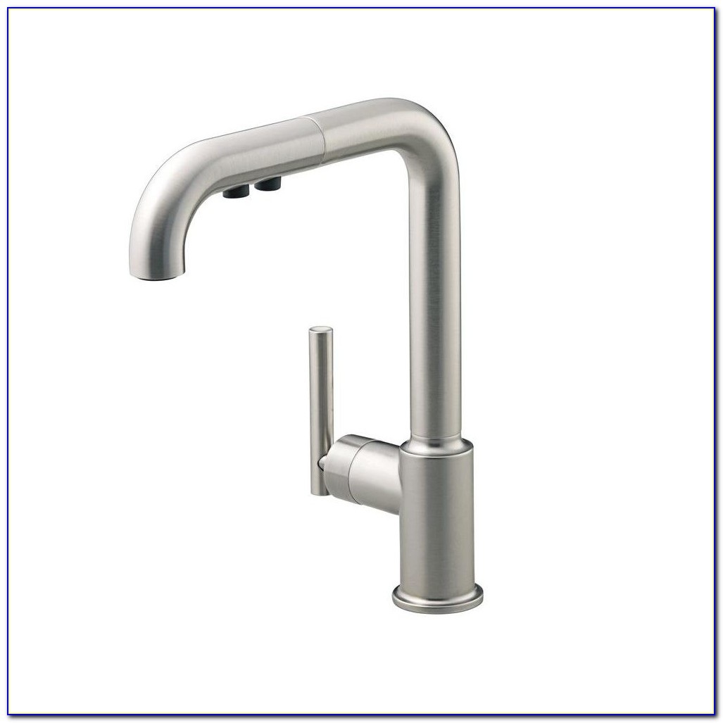 Kohler Pull Out Faucet Installation