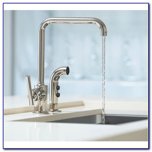 Kohler Purist Kitchen Faucet With Side Spray