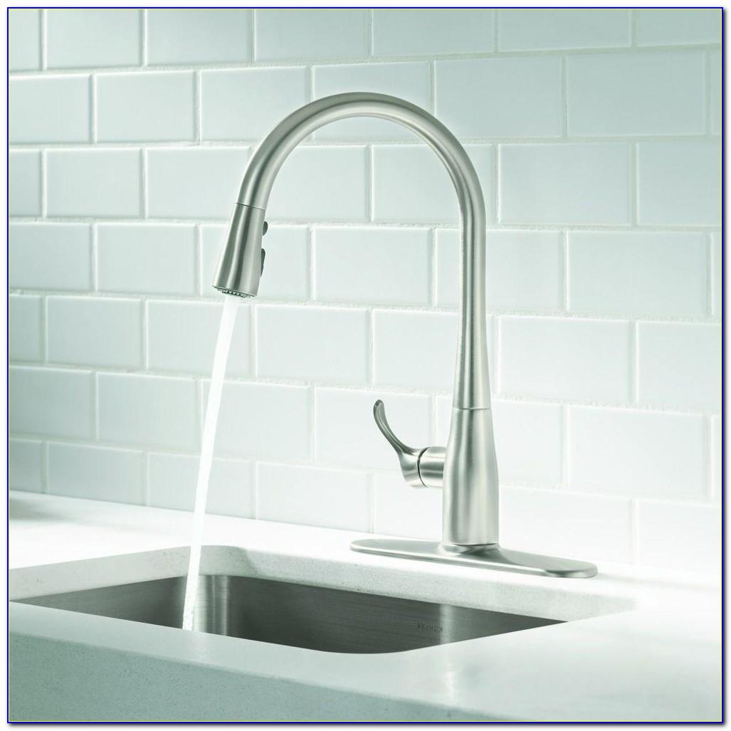 Kohler Simplice Kitchen Faucet Installation