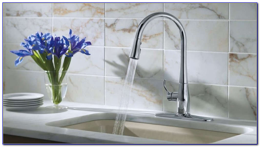 Kohler Simplice Polished Chrome Kitchen Faucet
