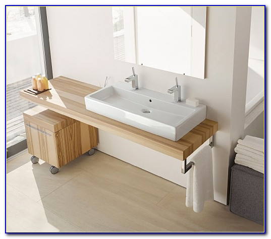 Kohler Trough Sink Double Faucet