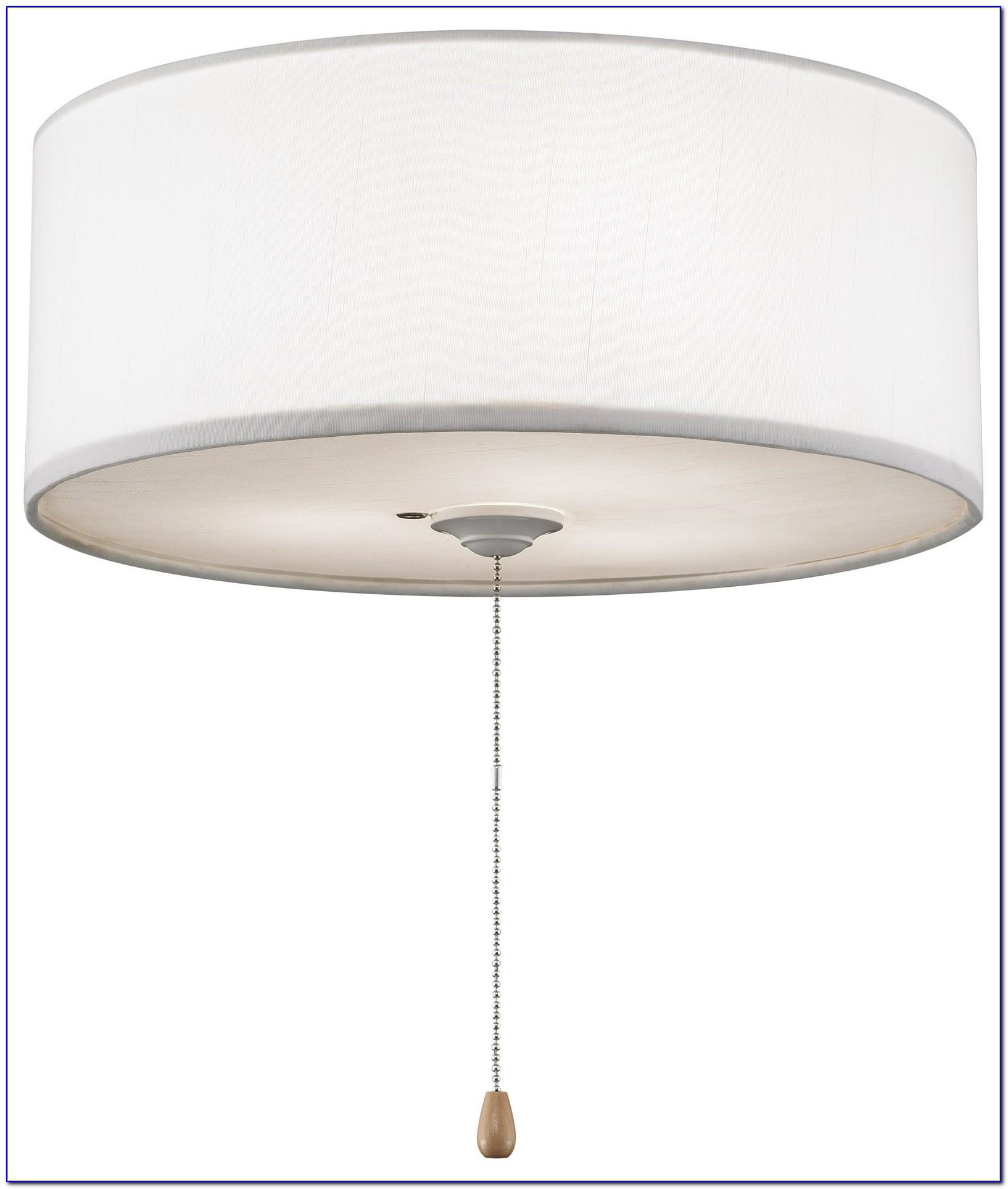 Lamp Shade On Ceiling Fan