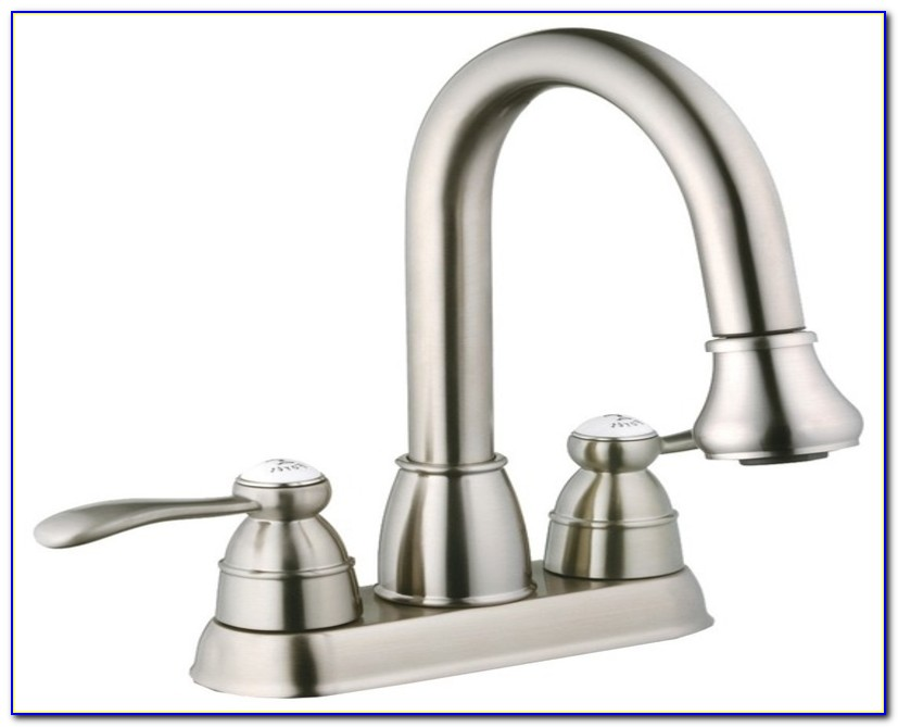 Laundry Faucet With Sprayer