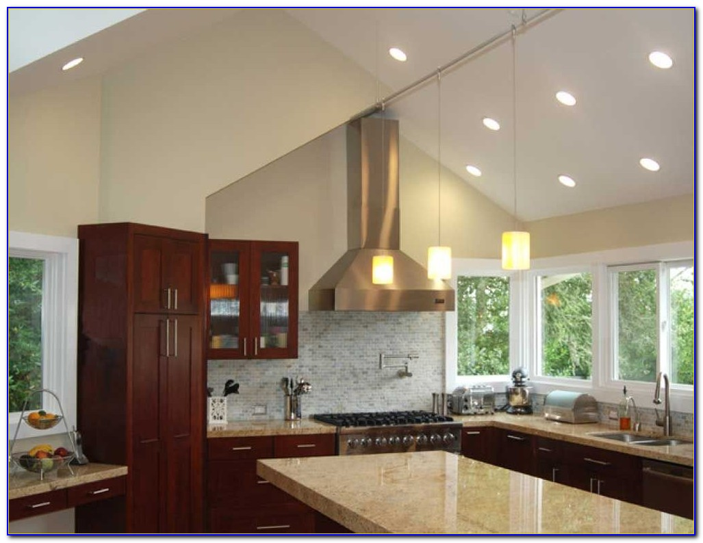 Lighting Ideas For Vaulted Ceiling Kitchen