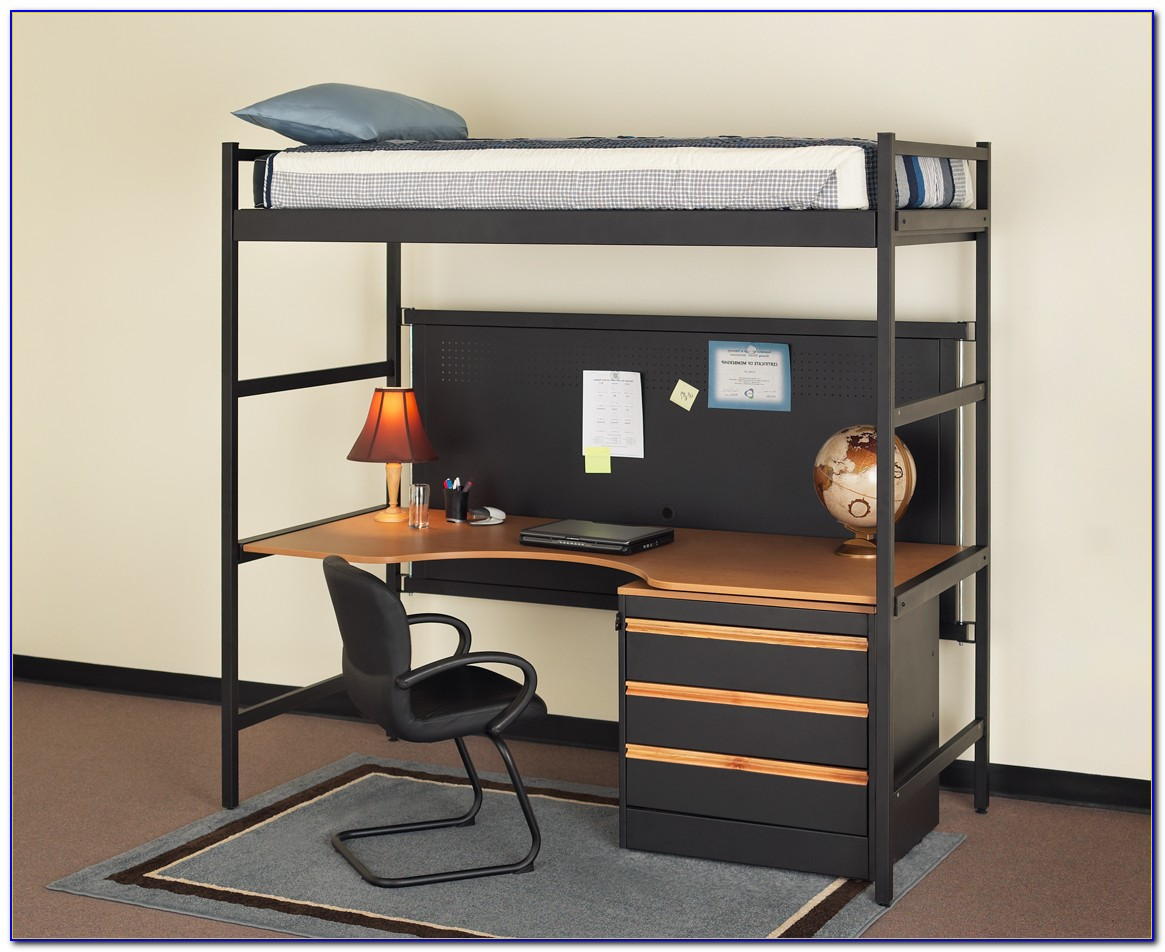 Loft Bed With Dresser And Desk Underneath