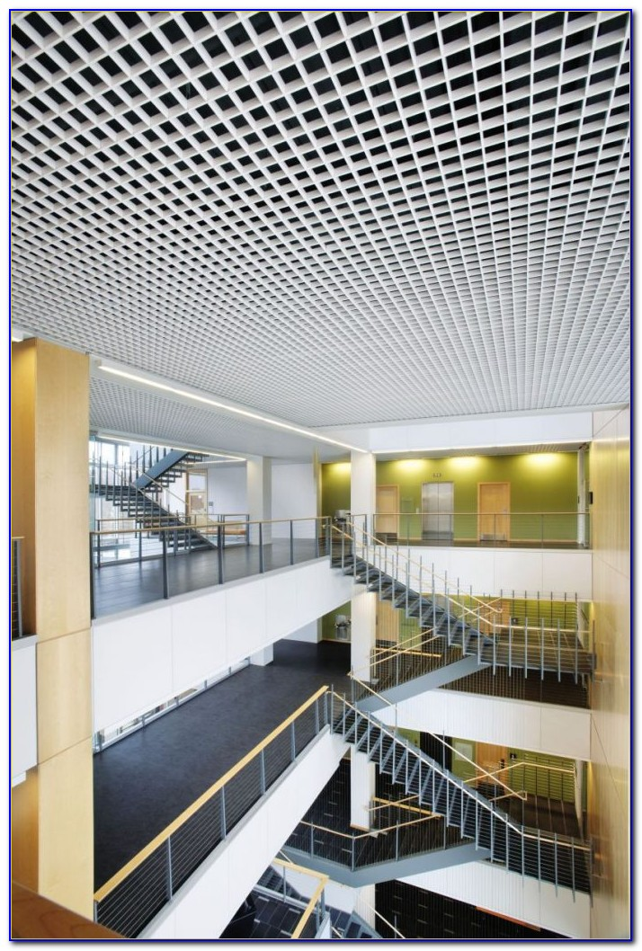 Metal Lay In Grid Ceiling