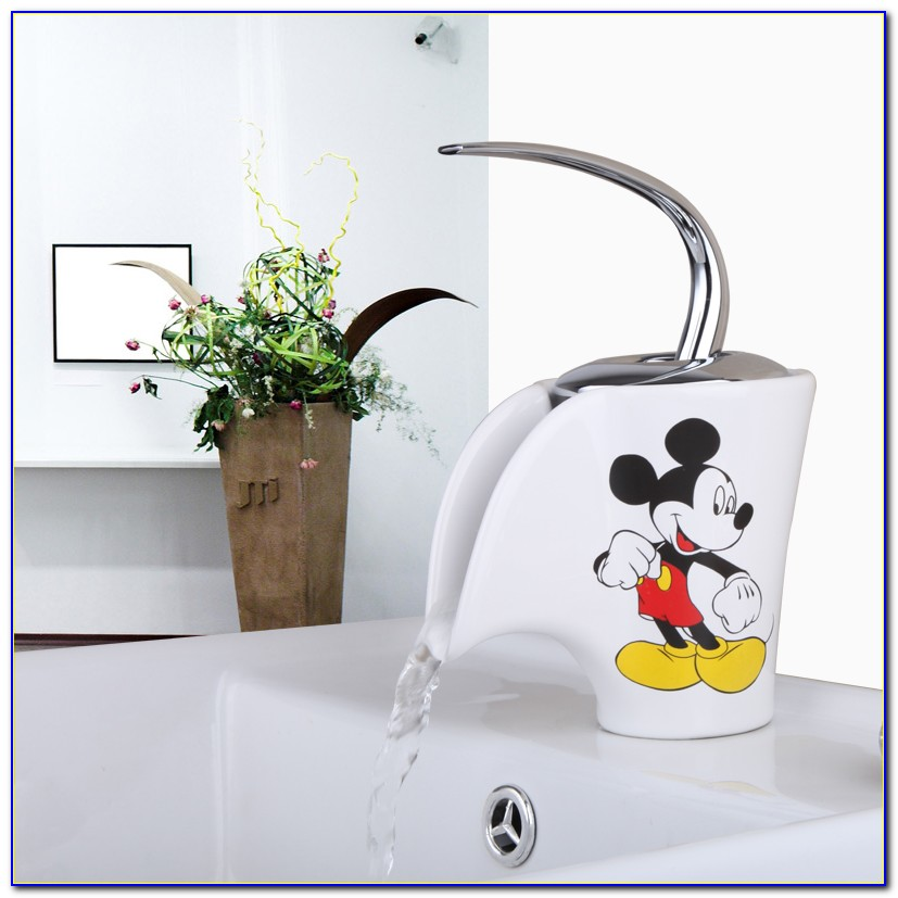 Mickey Mouse Bathroom Faucets