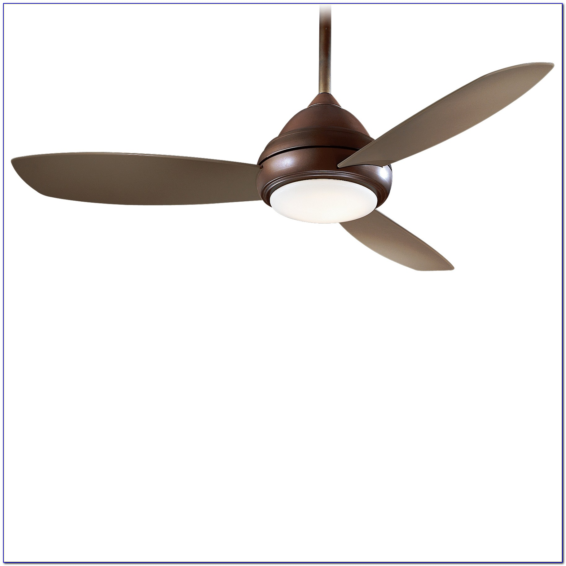 Minka Aire Simple Ceiling Fan With Light