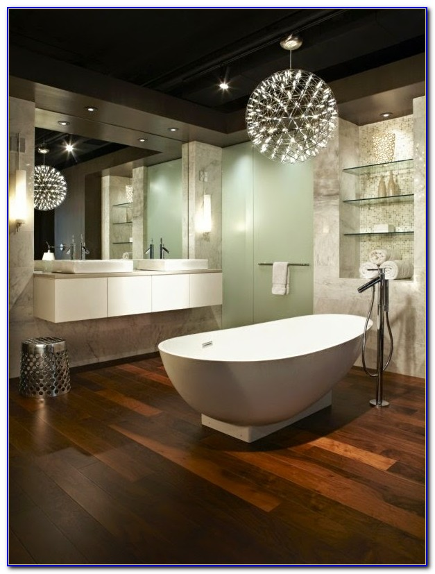 Modern Bathroom Ceiling Lighting Ideas