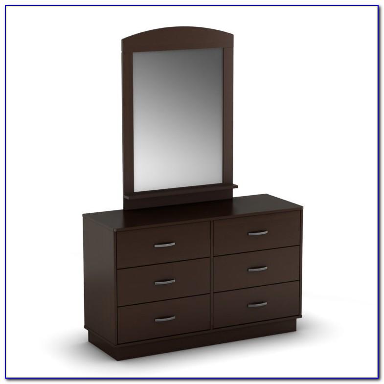 Modern Bedroom Dresser With Mirror