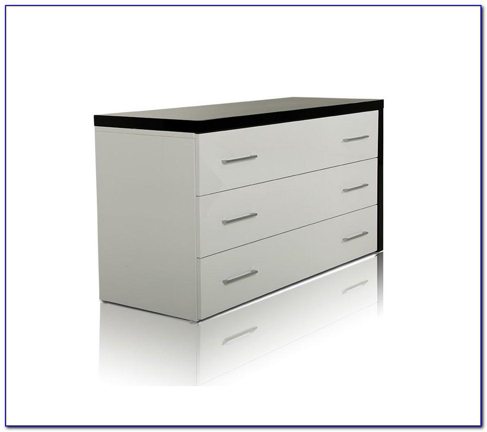 Modern Dresser With Full Length Mirror