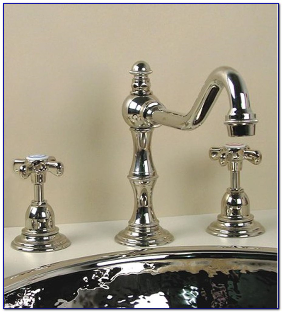 Moen 3 Hole Bathroom Faucet