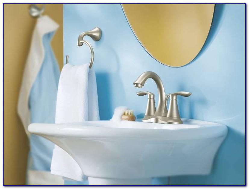 Moen 6400bn Eva Bathroom Faucet