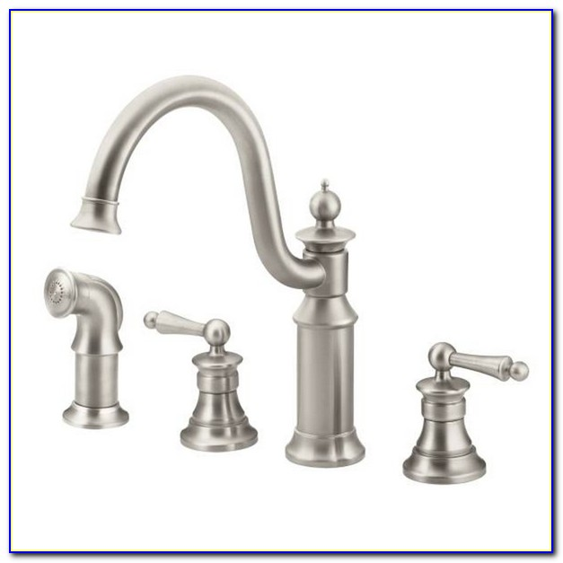 Moen Align Spot Resistant Stainless Steel Kitchen Faucet