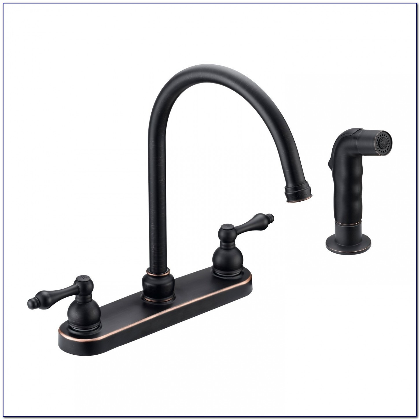 Kitchen : Black Kitchen Faucet With Sprayer Also Wonderful Black For Awesome Black Kitchen Faucets
