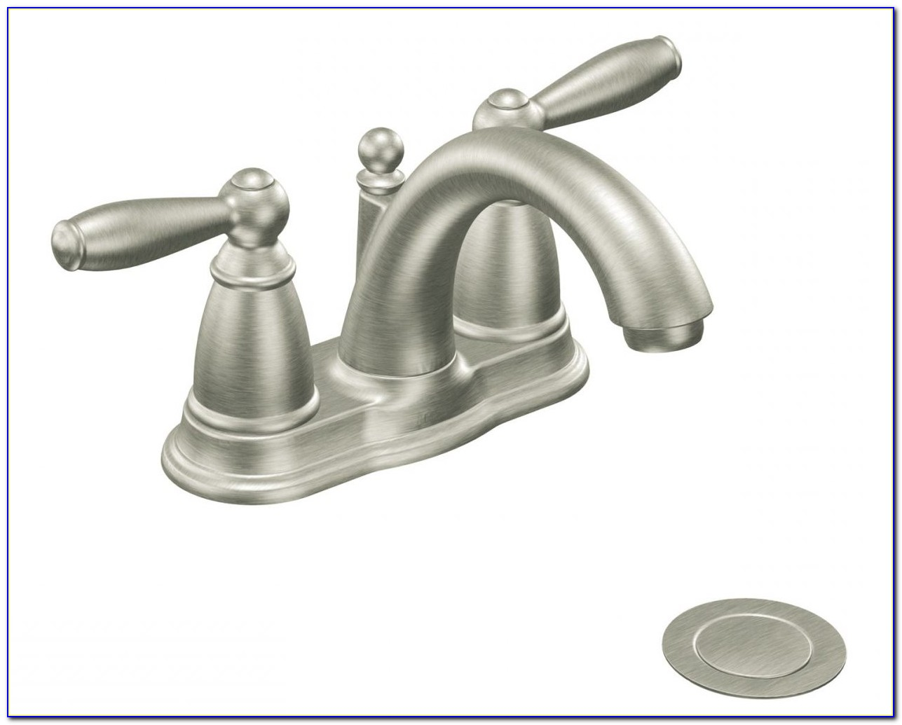 Moen Brushed Nickel Bathroom Faucet Cleaning