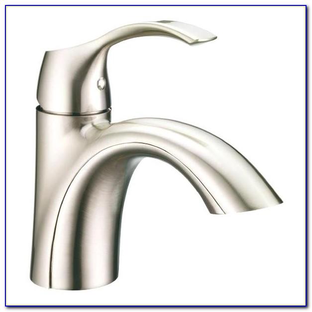 Moen Brushed Nickel Bathroom Sink Faucet