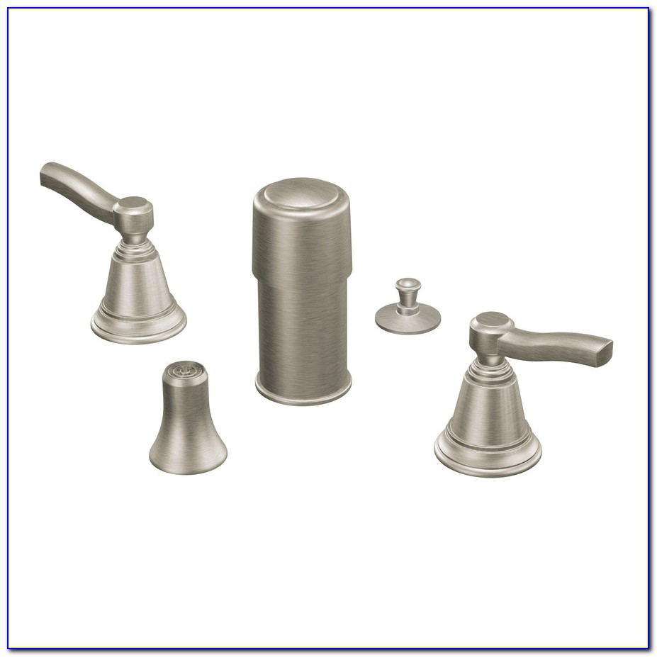 Moen Brushed Nickel Pull Down Kitchen Faucet