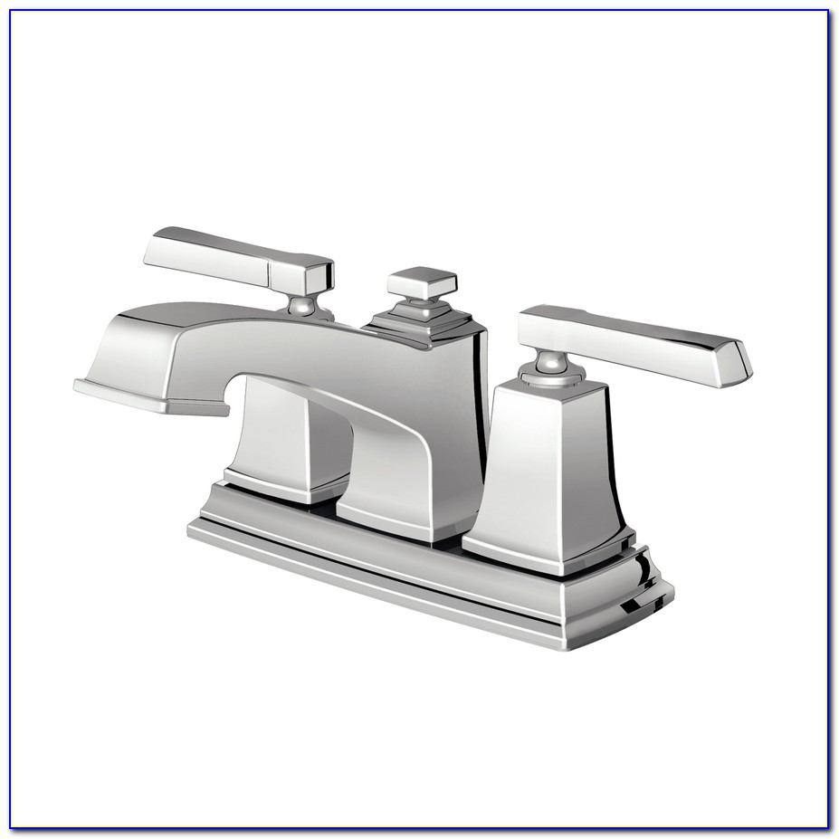 Moen Chrome Polished Brass Bathroom Faucets