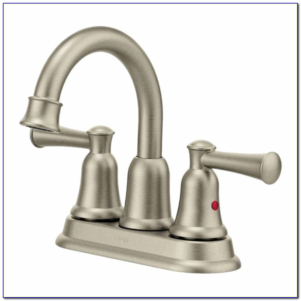 Moen Eva Brushed Nickel Bathroom Faucet
