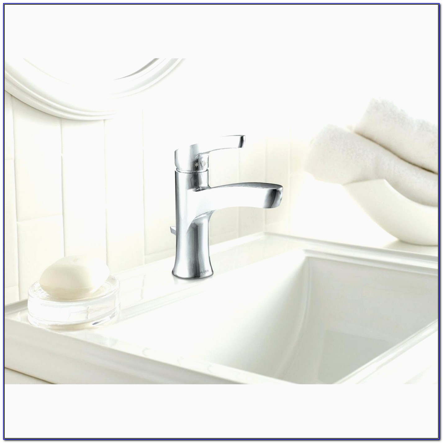 Moen Eva Single Handle Bathroom Faucet