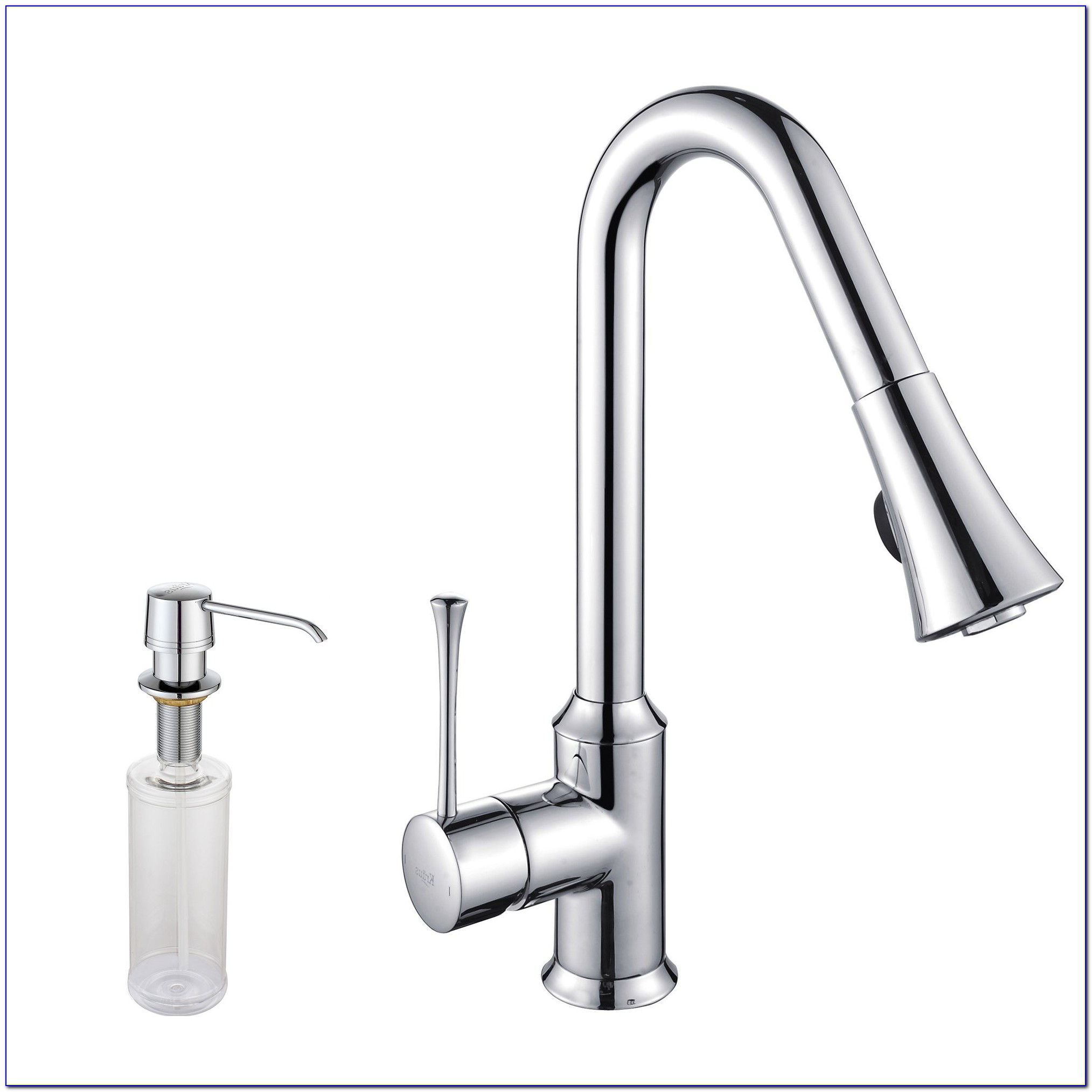 Moen Kitchen Faucet With Soap Dispenser