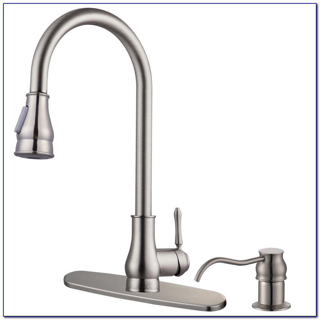Moen Kitchen Faucets With Soap Dispenser
