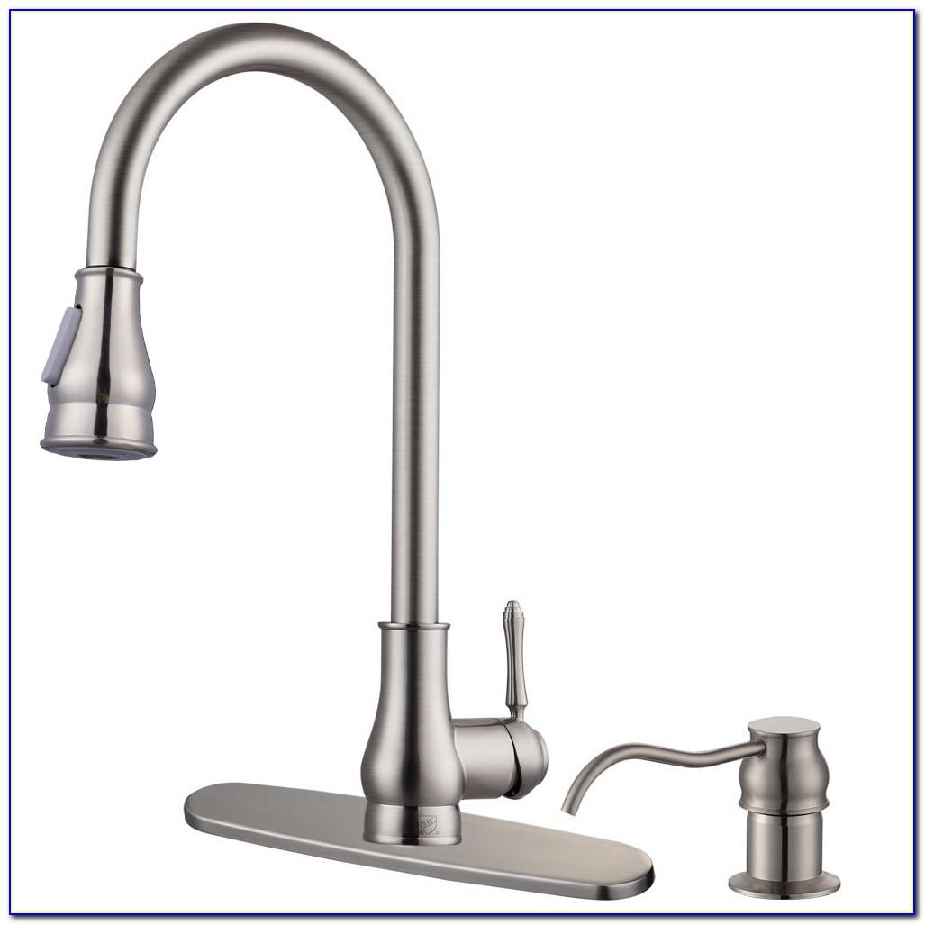 Moen Kitchen Faucets With Soap Dispenser