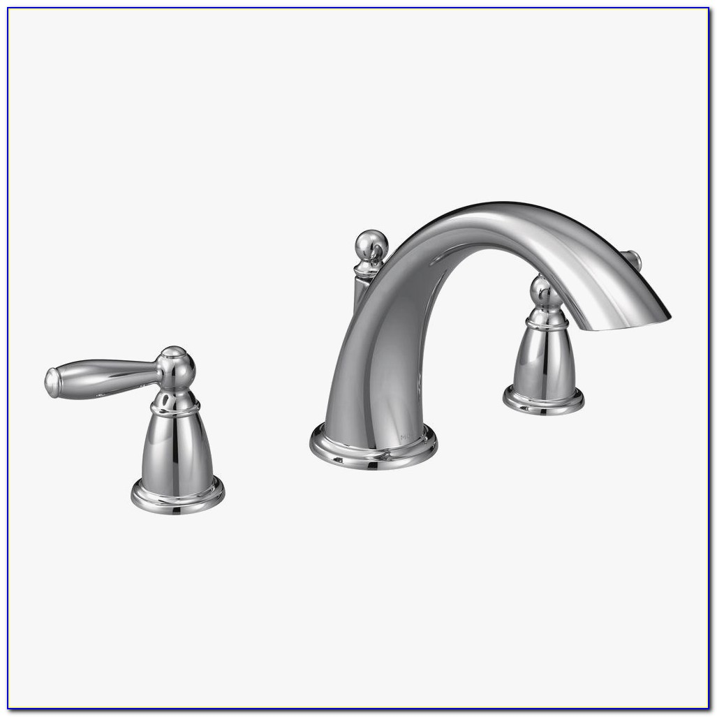 Moen T933 Perfect Moen Brantford 2 Handle Deck Mount Roman Tub Faucet Trim Kit In