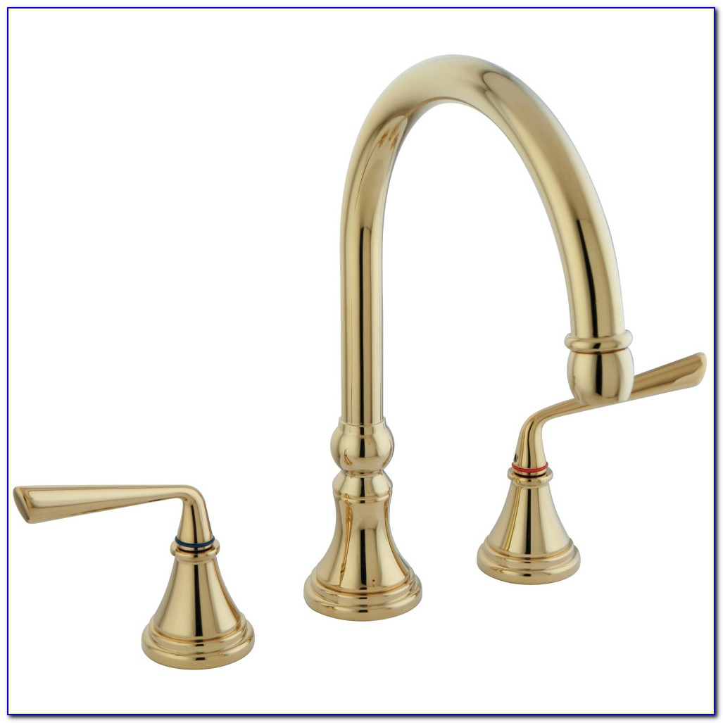 Moen Polished Brass Kitchen Faucets