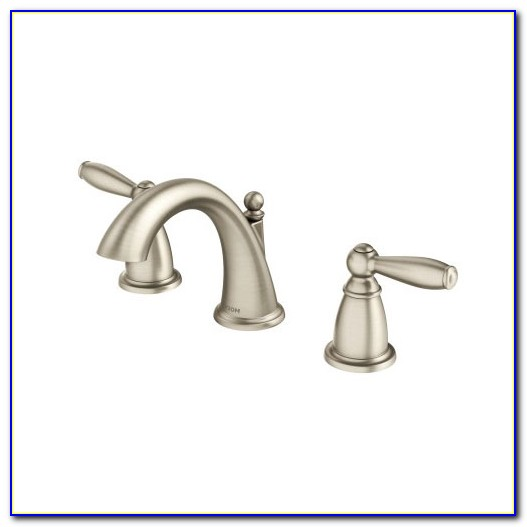 Moen Polished Nickel Bathroom Faucets