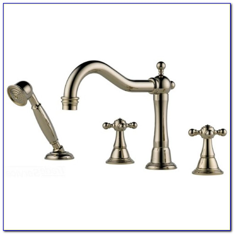 Moen Roman Tub Faucet With Hand Sprayer