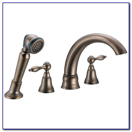 Moen Roman Tub Faucet With Sprayer