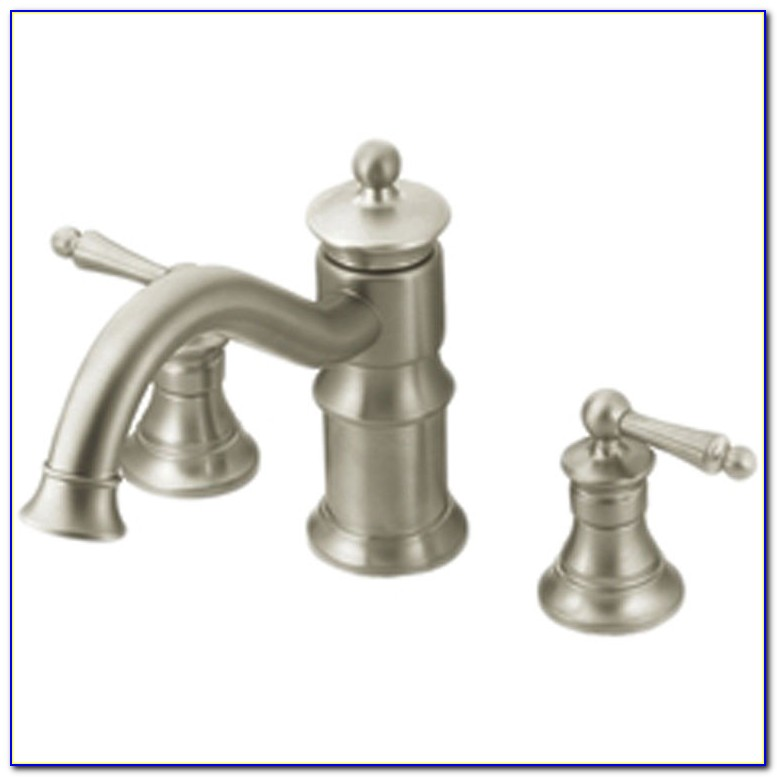 Moen Roman Tub Faucets Brushed Nickel