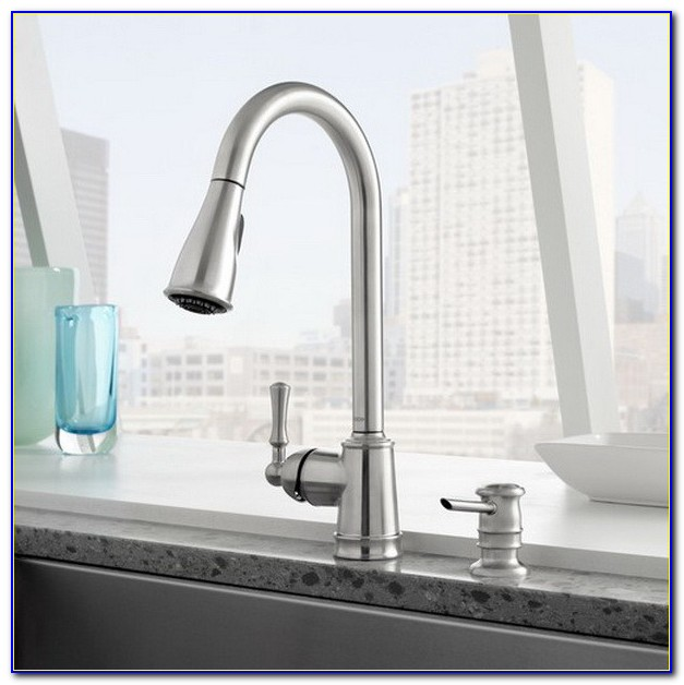 Moen Stainless Steel Kitchen Faucet