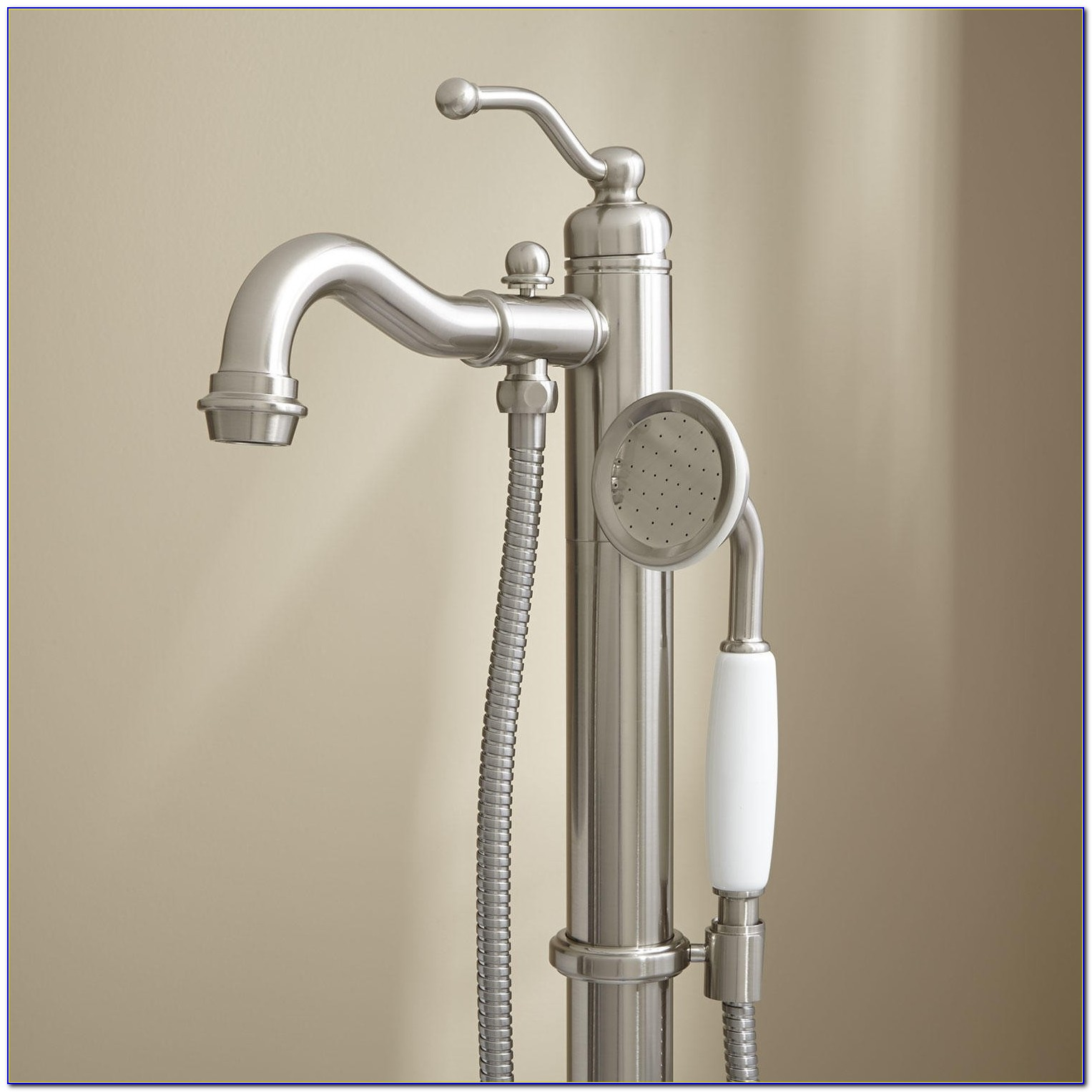 Bathtub Faucet With Handheld Shower Diverter Bathtub Faucet With Handheld Shower Diverter Leta Freestanding Tub Faucet With Hand Shower Bathroom 1500 X 1500
