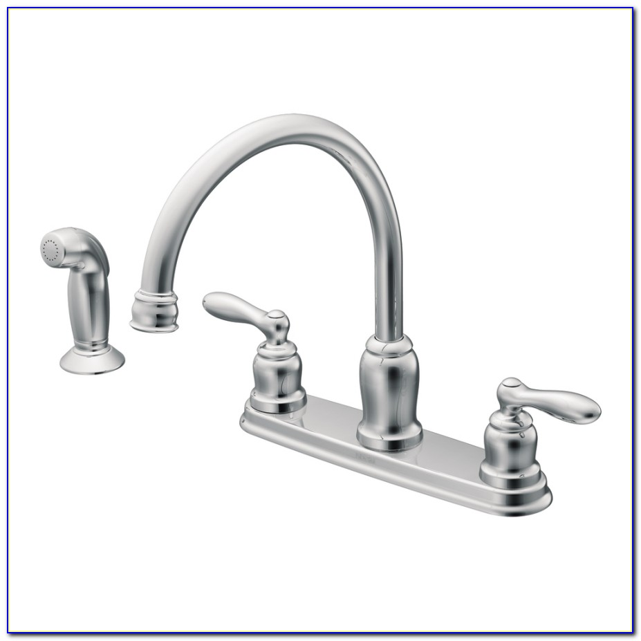 Moen Two Handle Kitchen Faucet Diagram