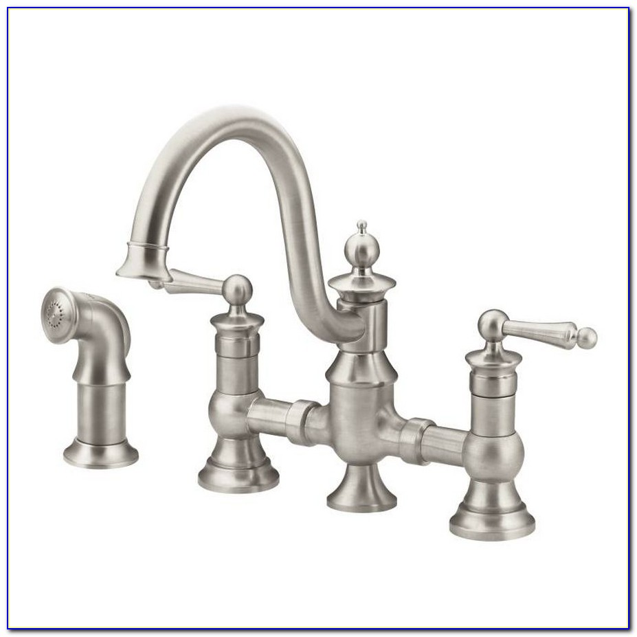 Moen Waterhill Kitchen Bridge Faucet