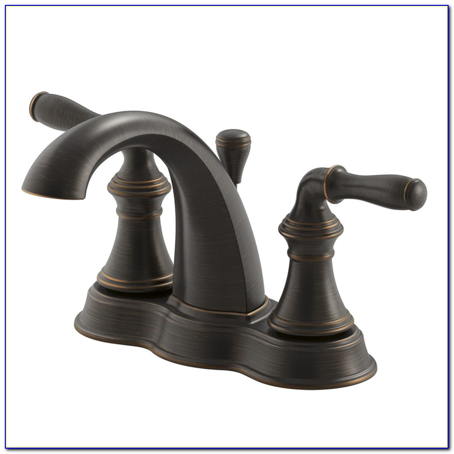 Oil Rubbed Bronze Faucets For Bathroom