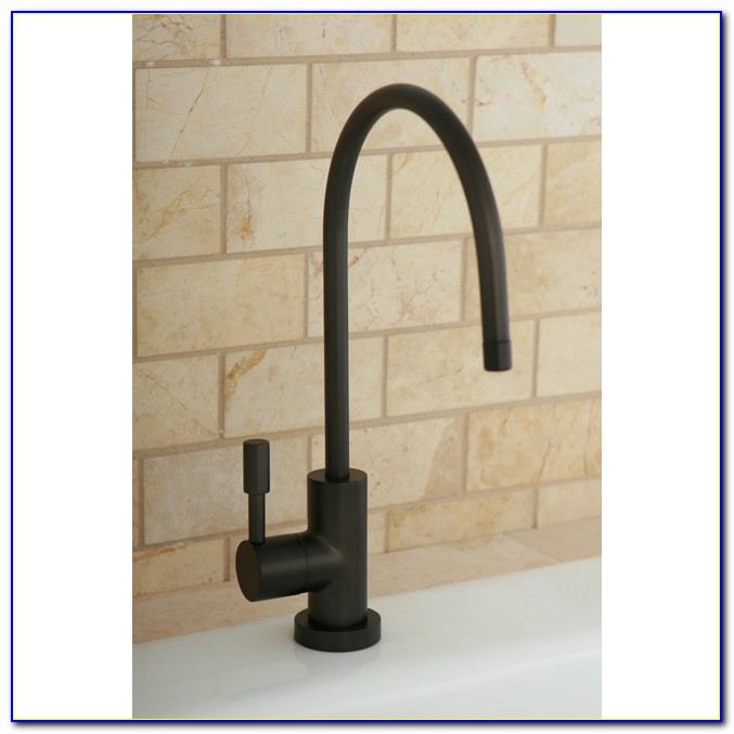 Oil Rubbed Bronze Water Filtration Faucet