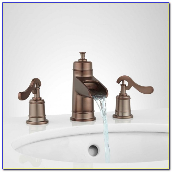Oil Rubbed Bronze Waterfall Tub Spout