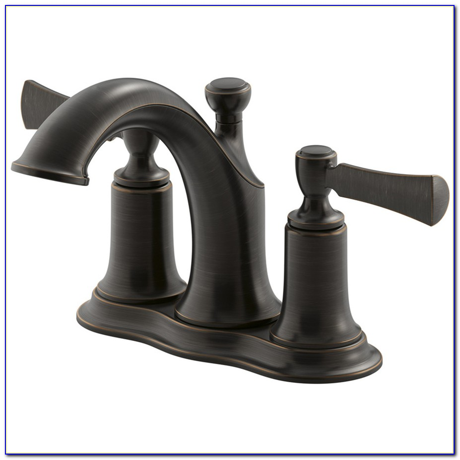 Oiled Bronze Bathroom Faucets
