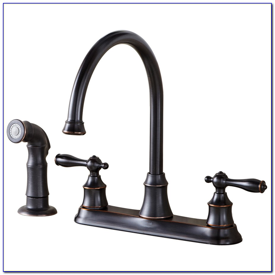 Oiled Bronze Kitchen Faucet