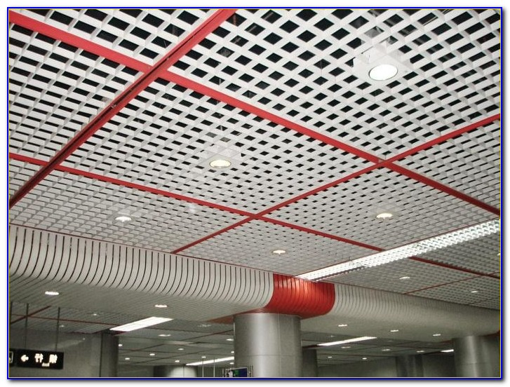 Open Cell Metal Ceiling Tiles