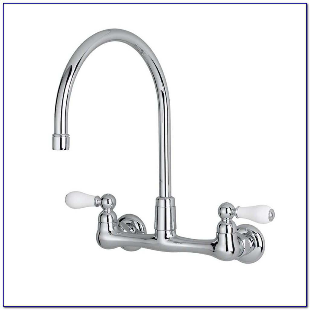 Peerless Single Handle Wall Mount Kitchen Faucets