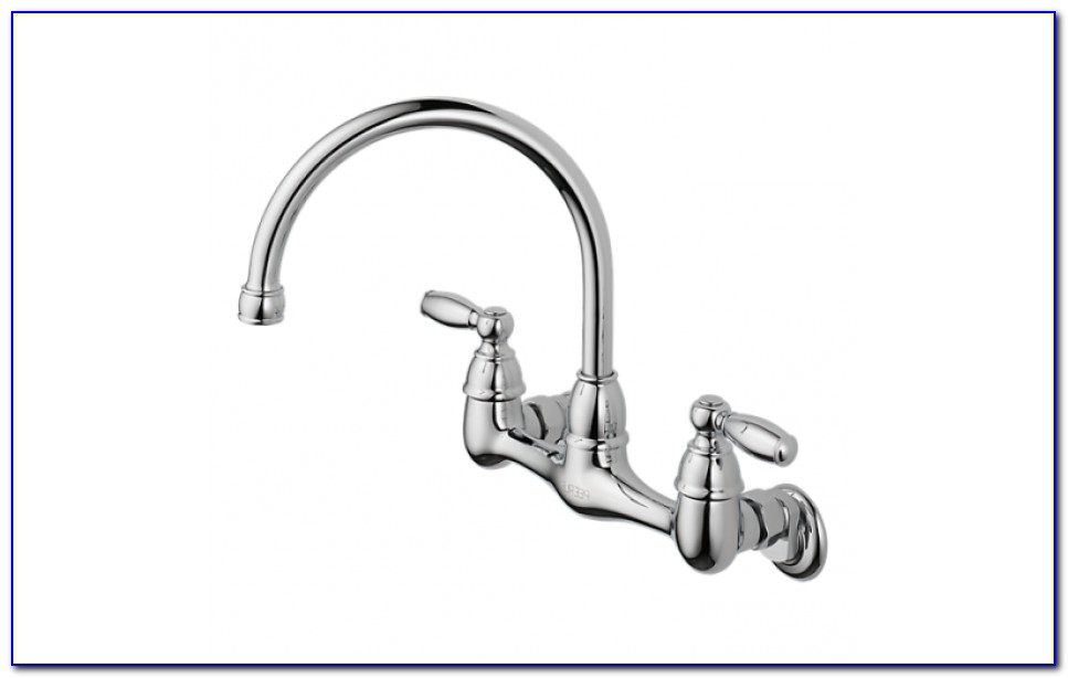 Peerless Wall Mount Kitchen Faucet