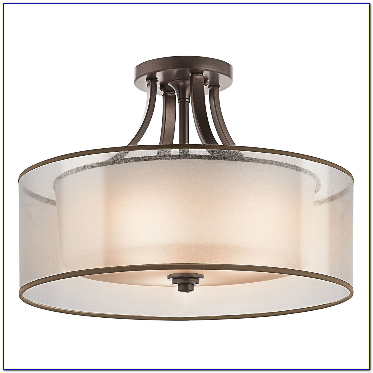 Pewter Semi Flush Mount Ceiling Lights