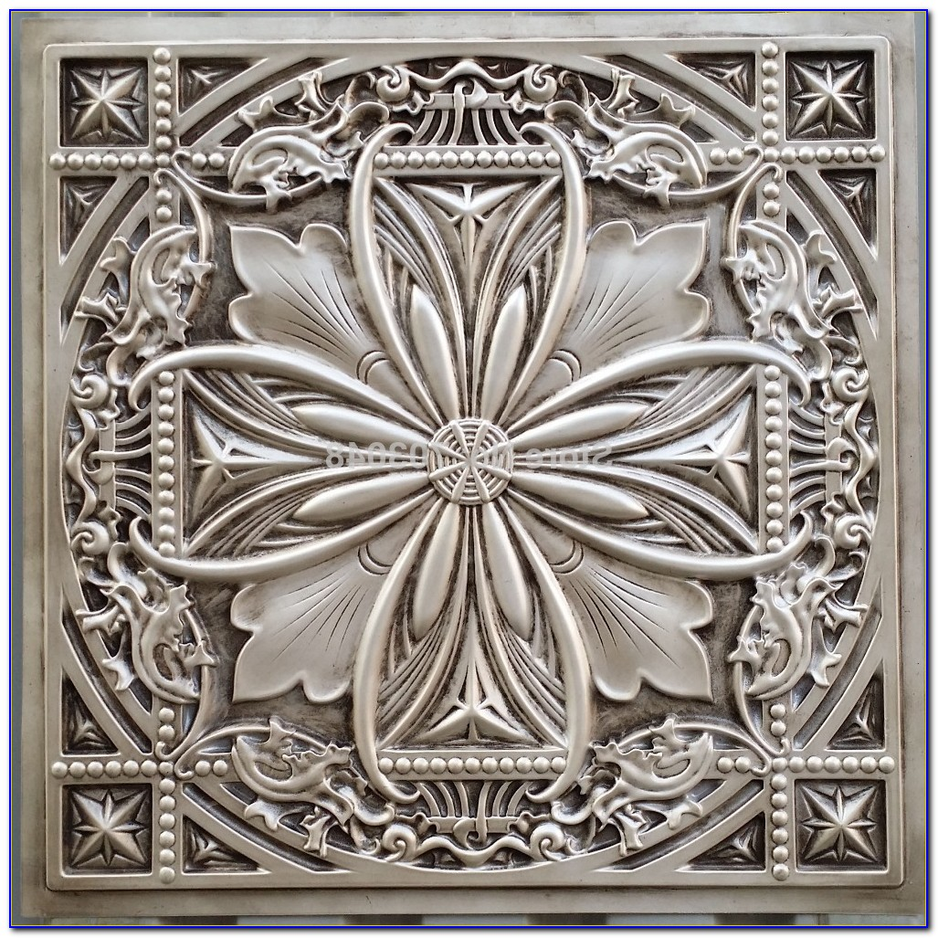 Plastic Tin Ceiling Panels