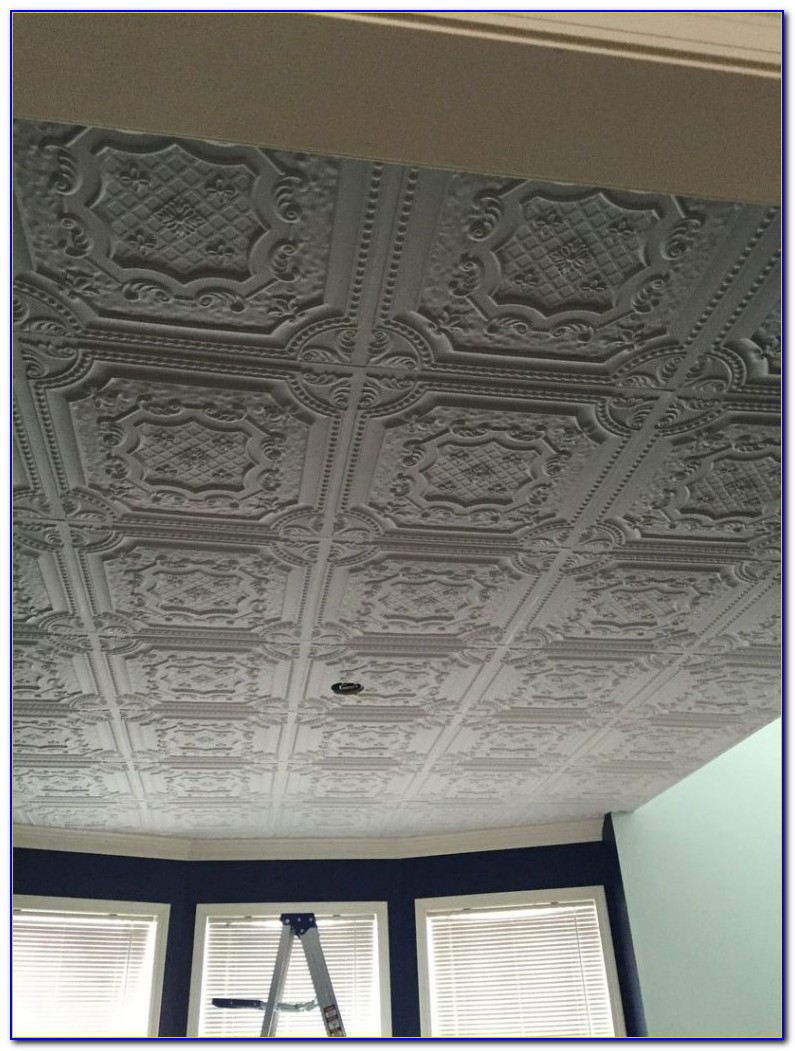 Plastic Tin Look Ceiling Panels