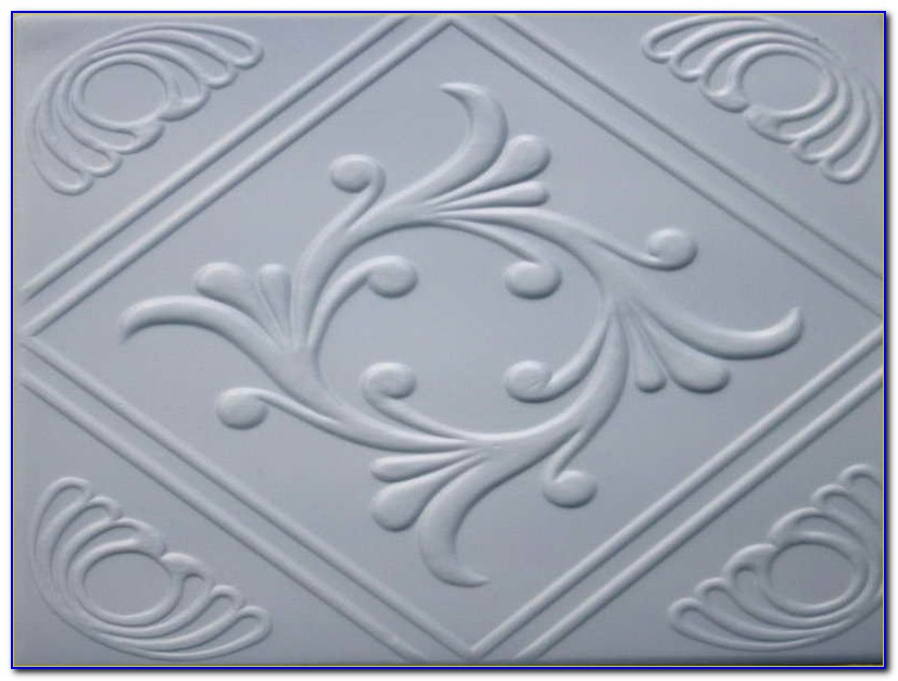 Plastic Tin Look Ceiling Tiles